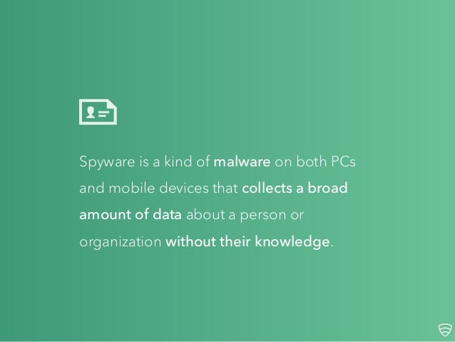 What Is Spyware? Slide 2