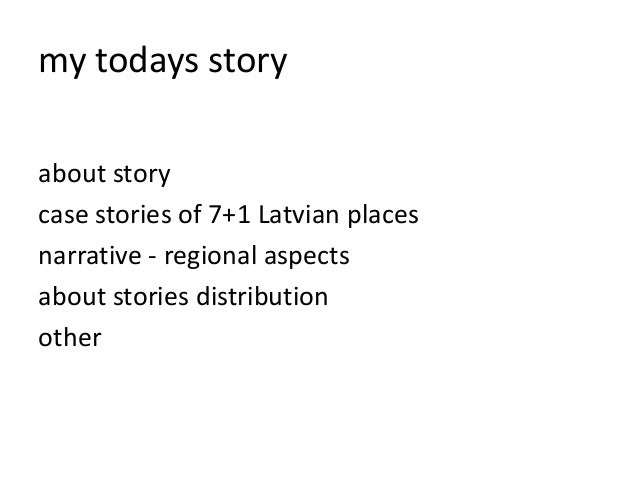 What is storytelling and how can narratives contribute to regional development Slide 3