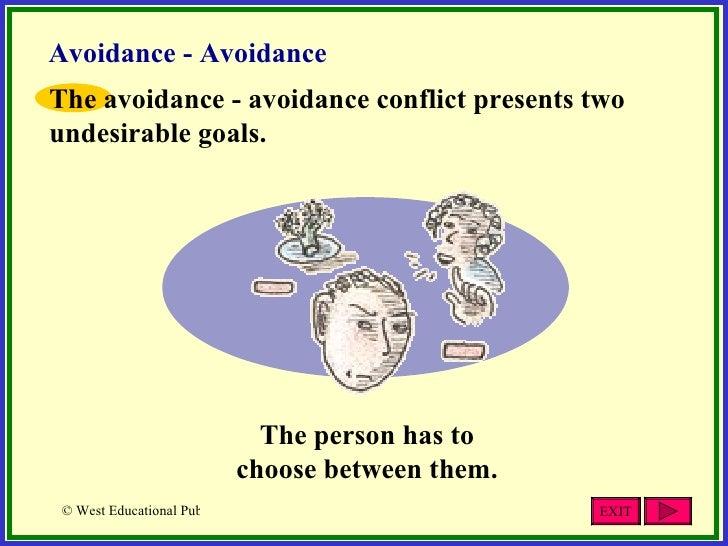 avoidance avoidance conflict psychology