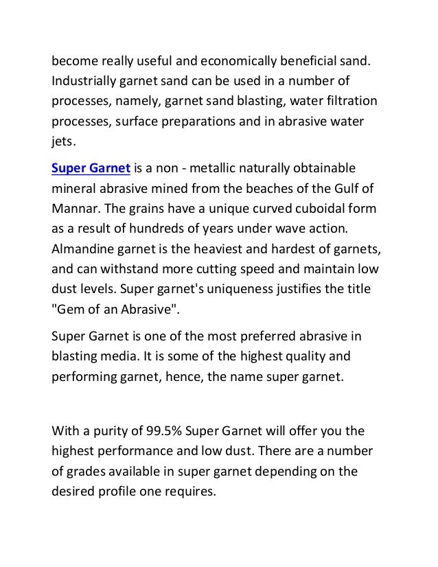 What Is Supergarnet