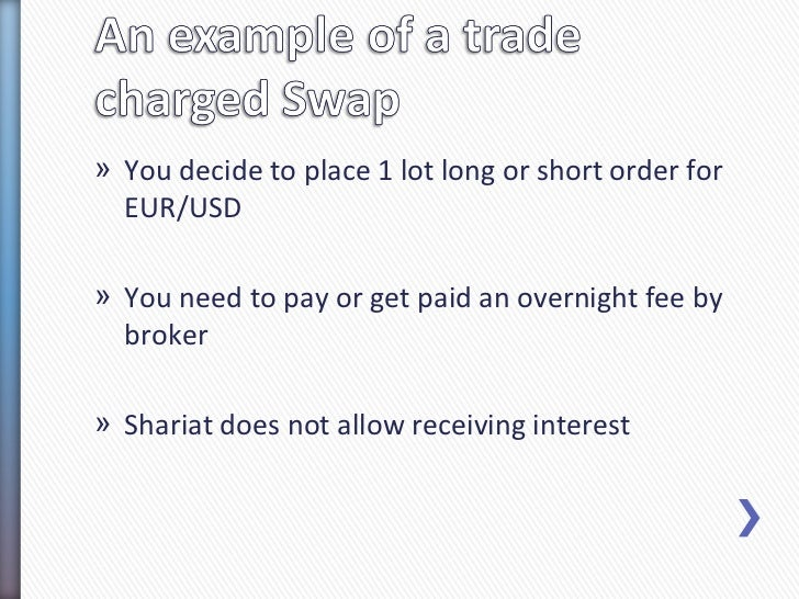 In forex what is a swap
