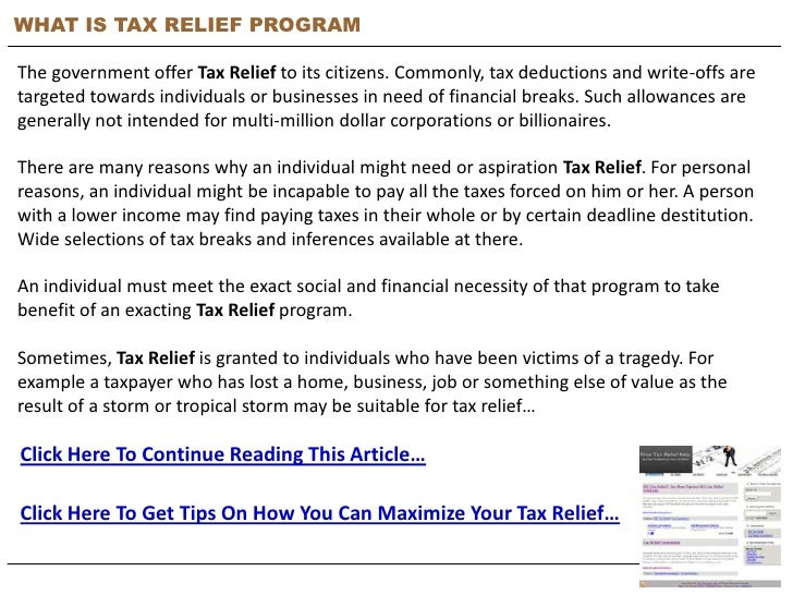 tax relief help reviews Don't become a victim of a tax-relief scam letter in the mail or in your inbox claiming you qualify for a governmental plan to help settle your tax.