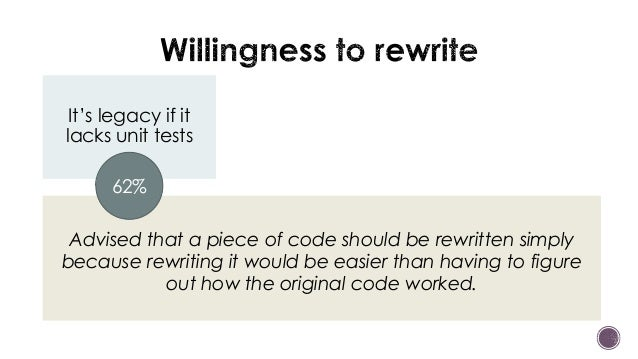 What is the actual life expectancy of your code?