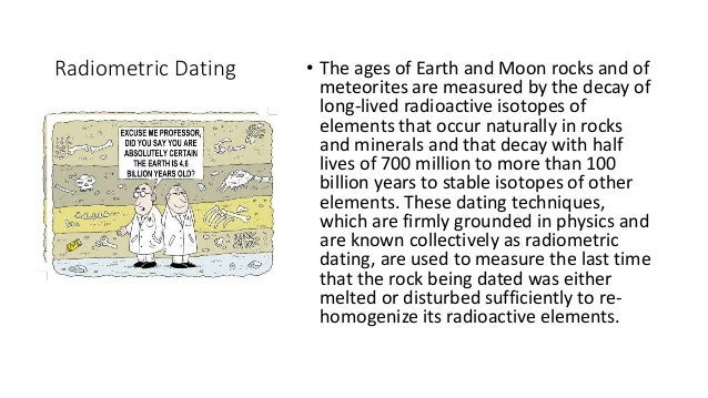 radioactive dating has revealed that moon rocks are more than