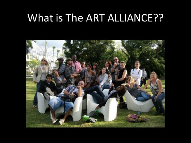 What is The ART ALLIANCE??