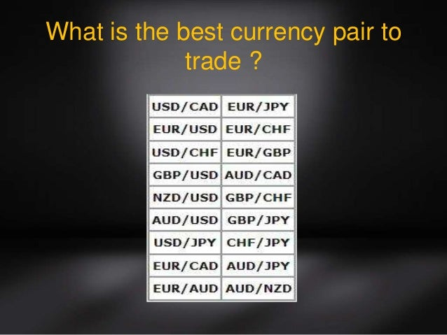 Best forex pairs to trade today