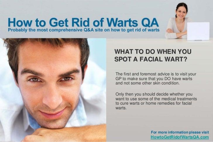 Facial wart cure