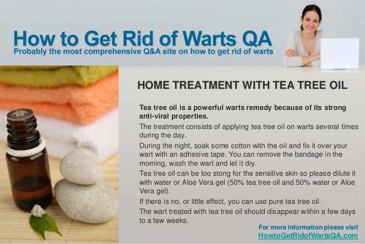 Home remedy for plantar warts tea tree oil - Home room ideas