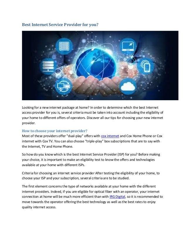 Cox Internet Plans