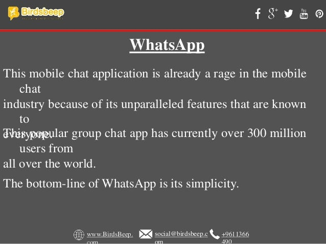 What Is The Best Chat App