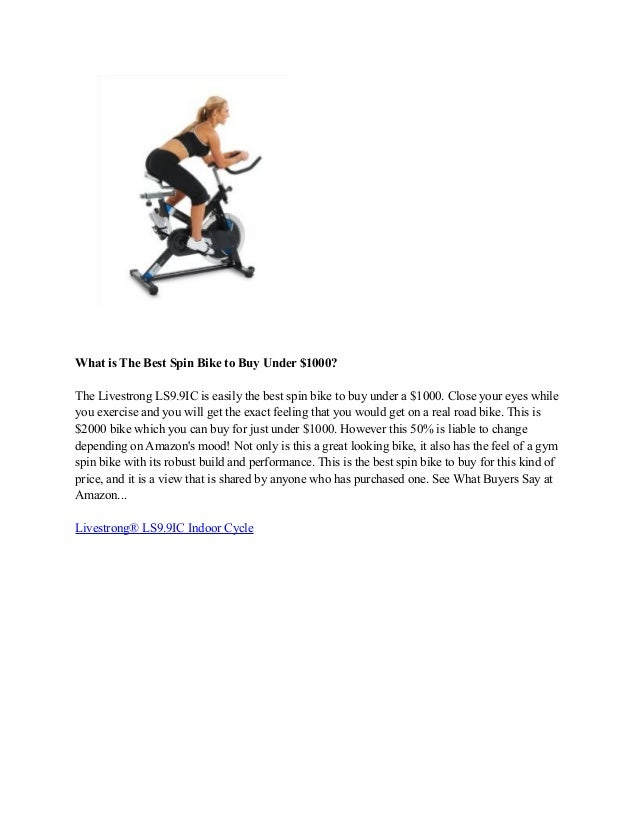 how to buy a spin bike