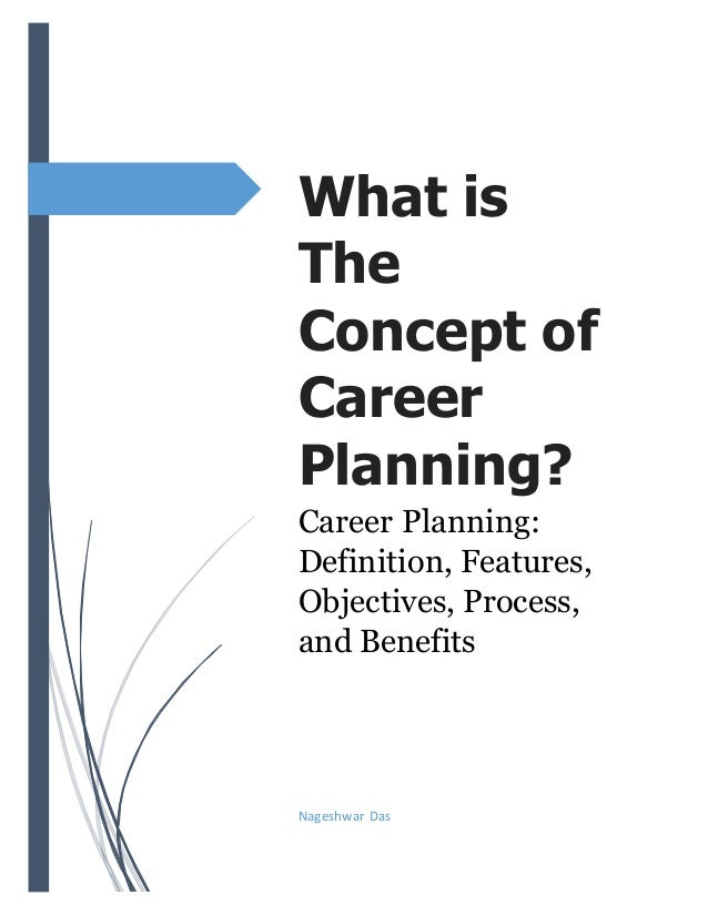 What is the concept of career planning?