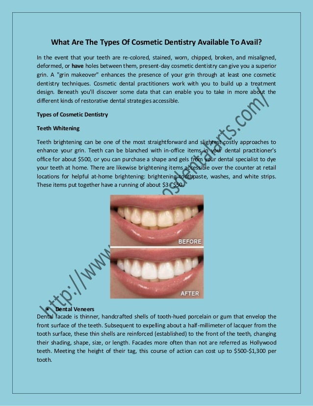 What is the cost of cosmetic dentistry procedures in usa