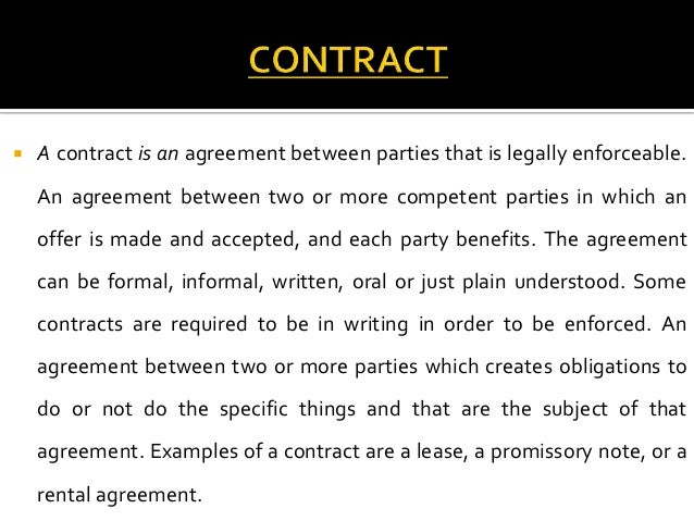 What Is The Difference Between A Contract And An Agreement