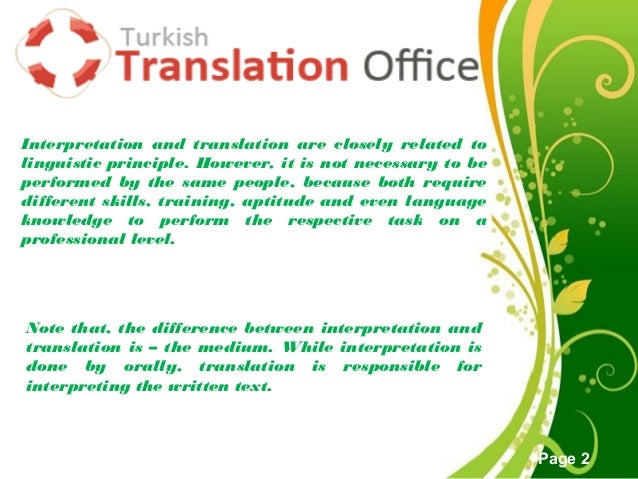 4 Major Differences Between Language Interpretation and Translation