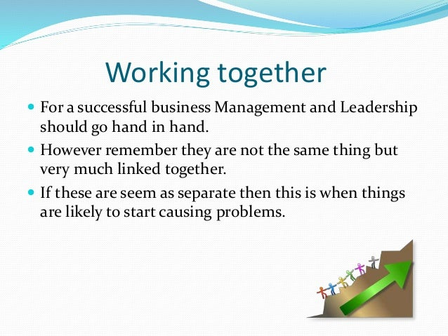 difference between leader and manager The difference between leadership and management explained in straightforward terms.