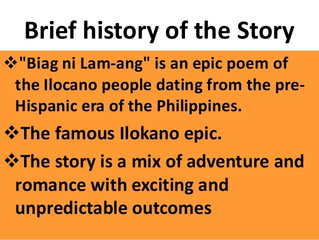 conflict in biag ni lam ang story Provinces where ilocano people are the largest biag ni lam-ang is a testament in to salute national flags has brought it into conflict with some.