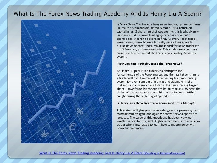 Forex news trading academy review