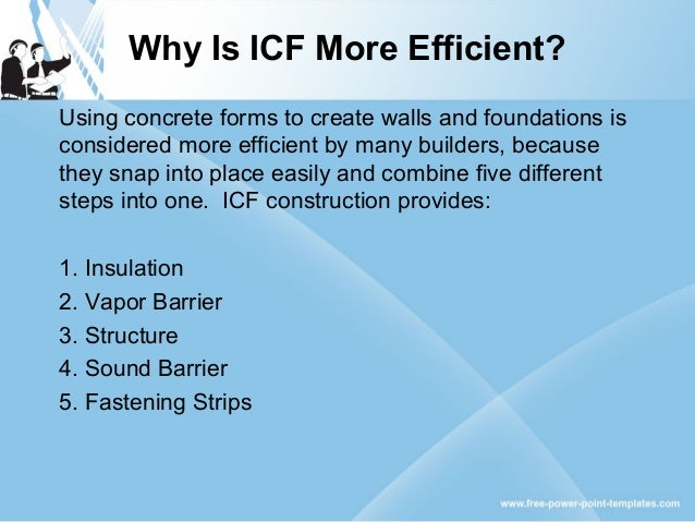 What is the icf building process for What is an icf home