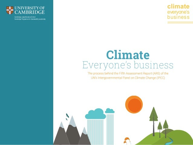 climate Cambridge Judge Business School Cambridge Programme for Sustainability Leadership  everyone's business