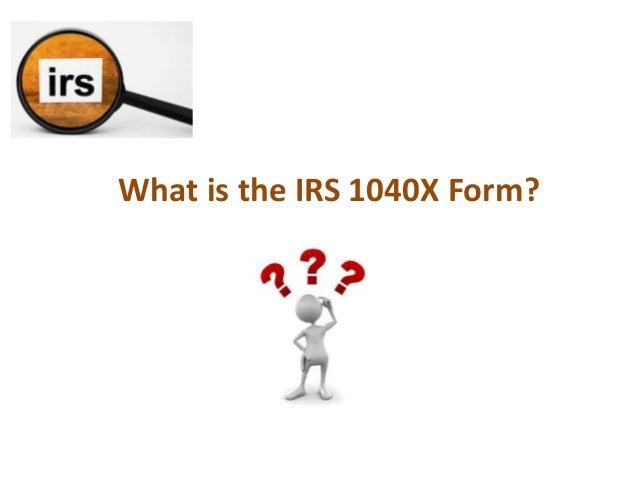 Irs1040x Form Fashionellaconstance