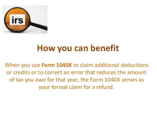 What is IRS Form 1040X | IRS Form 1040X Instructions