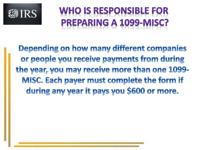 Irs Tax Form 1099 Misc For 2015 2016 Form 1099
