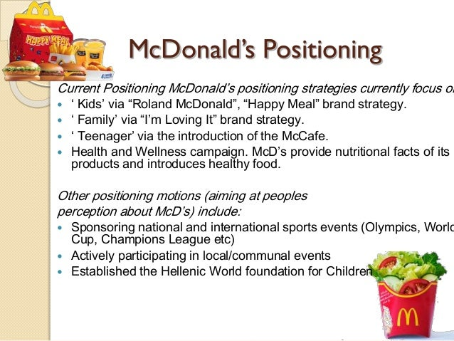 Mcdonald s malaysia pricing strategies in