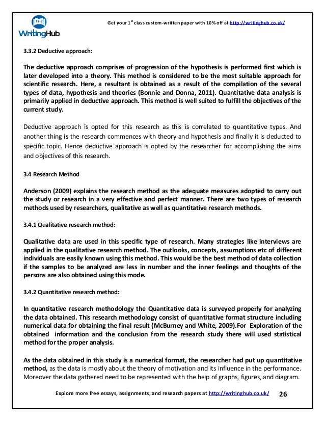 What Is The Role Of Motivation In Increasing The Performance Of The E   How To Make A Good Thesis Statement For An Essay also English Essay Examples  Essay With Thesis