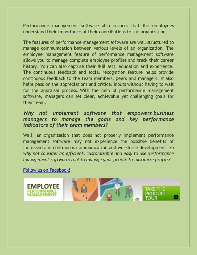 the role reversal for performance management The manager's effect on a performance management system clearly communicated performance standards and what good performance in a role looks like.