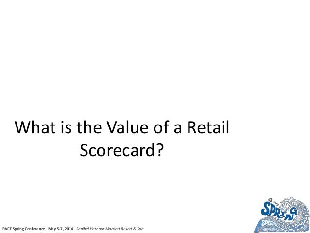 What is the value of a retail scorecard