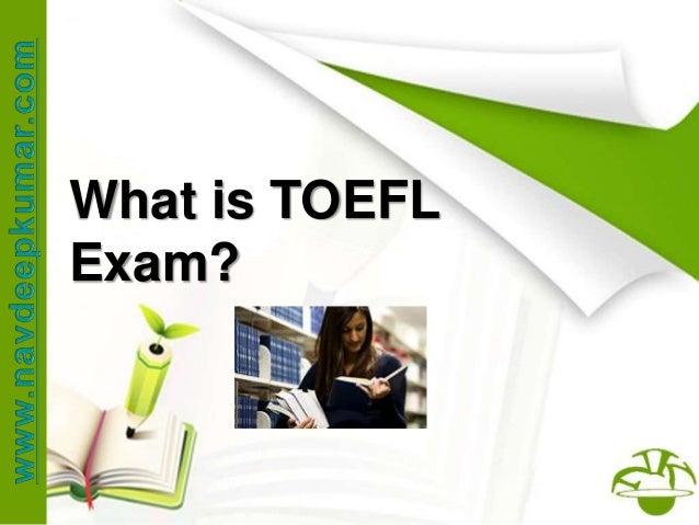 What is TOEFL Exam?