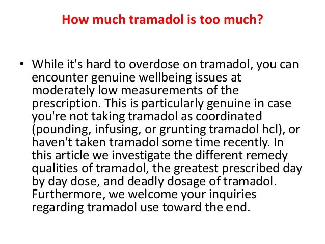 tramadol hcl overdose amount gabapentin