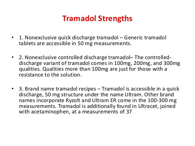 how to come off tramadol