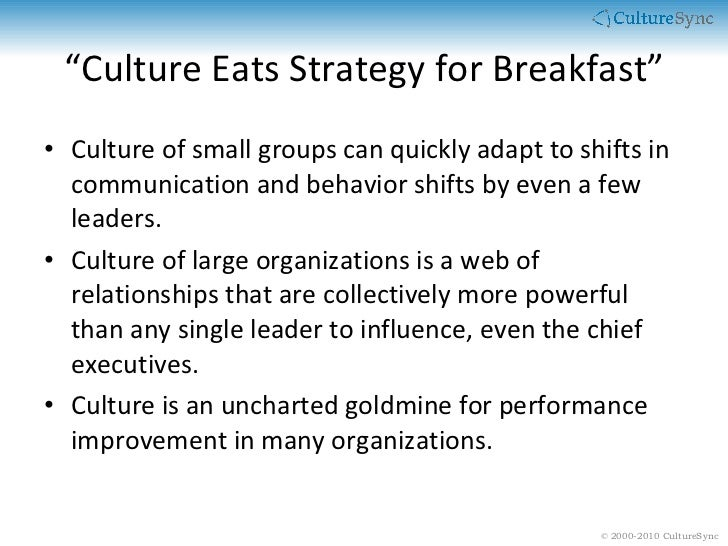Tribal Leadership: Culture is the Solution