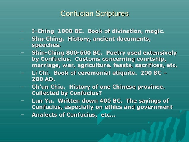 the thoughts of confucius written in the book lun yu The analects are a collection of the teachings and thoughts of confucius they also contain fragments of dialogues between the great chinese philosopher and his disciples the name in this has led some scholars to conclude that the book was not written by a single author, but is the collective work of several people.