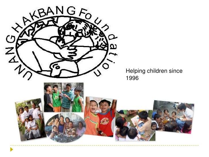 Helping children since 1996<br />