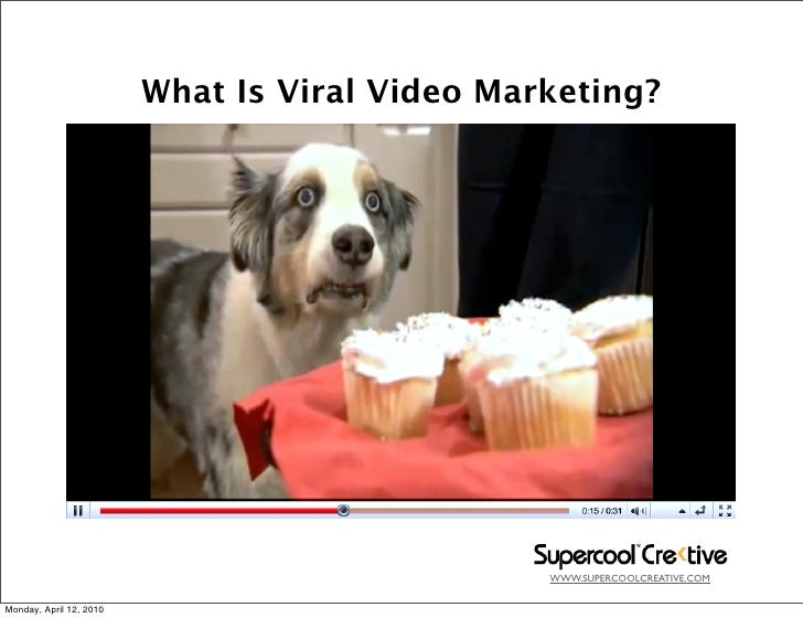 What Is Viral Video Marketing?                                                     WWW.SUPERCOOLCREATIVE.COM   Monday, Apr...