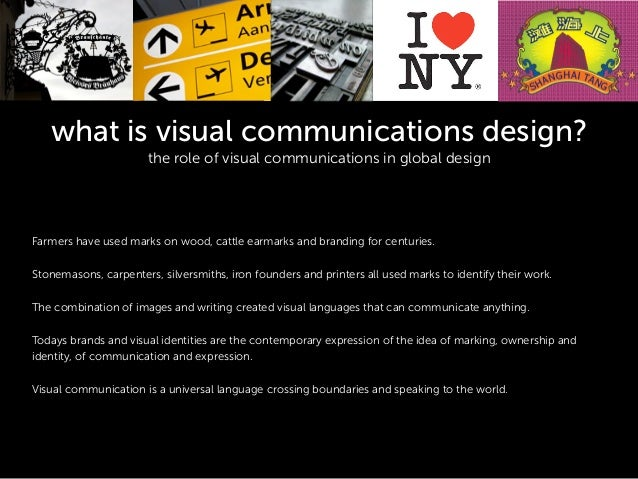 What is visual communication design? keynote