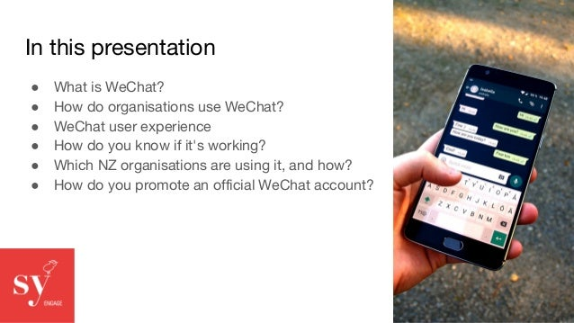 What is WeChat?  Slide 2