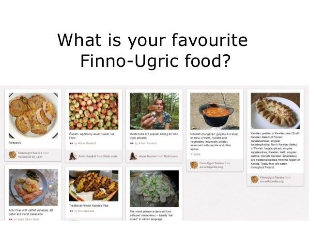 What is your favourite  Finno-Ugric food?