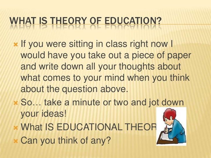 multiple choice questions on philosophy of education
