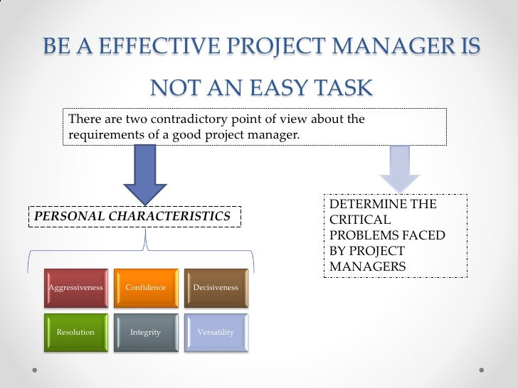 being a good project manager management essay The importance of project management essay the project manager is the person who would handle these there is actually a good quantity of overlap between.