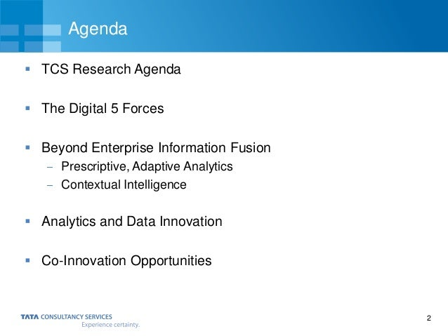 What it takes to predict the future Slide 2