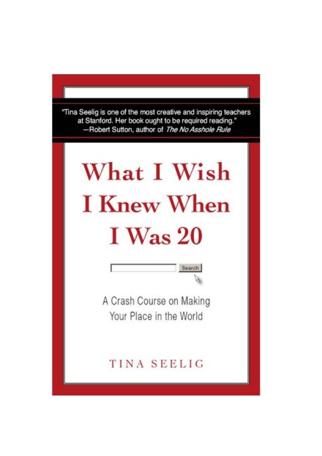 What i wish i knew