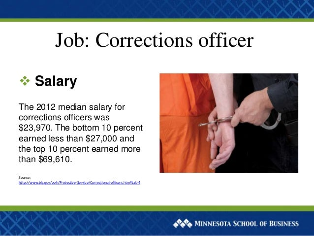 What jobs can you get in criminal justice - Correctional officer jobs ...