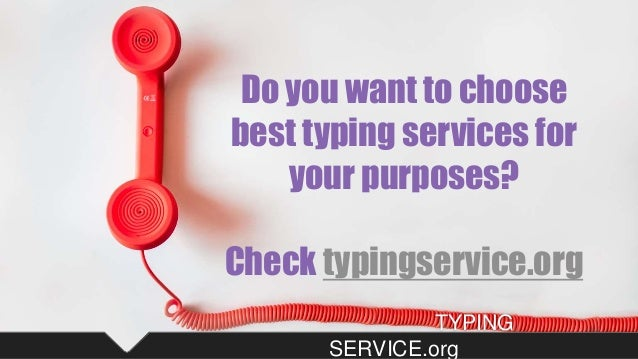 typing tasks to outsource