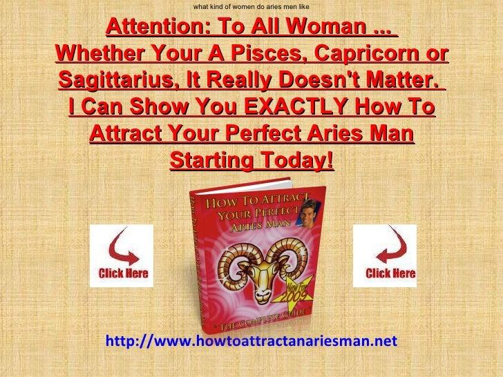 what do aries men like