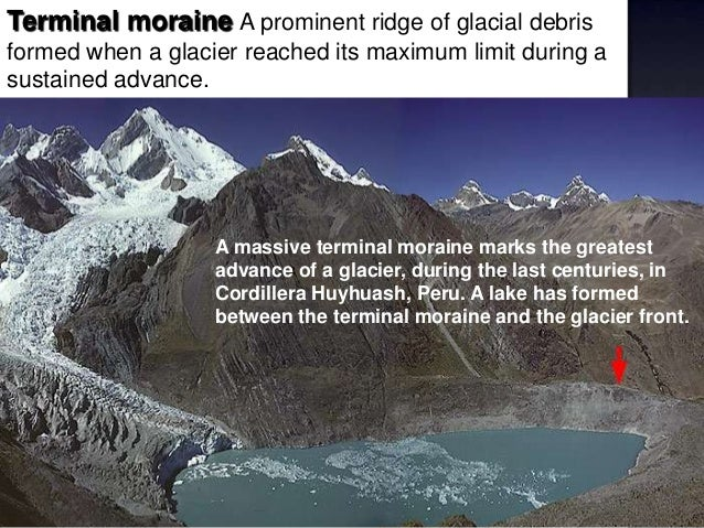 Terminal Moraine And The Glacier Front 11