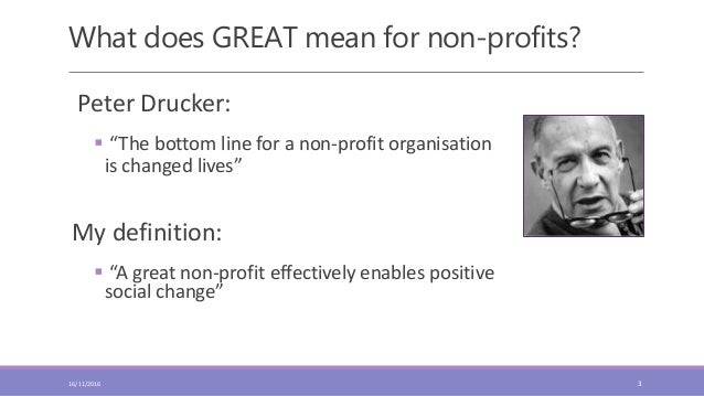 What makes a good organisation great Slide 3